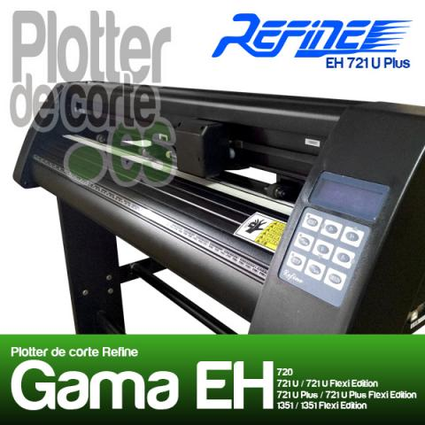 Plotter de corte Refine EH721 Plus SOPORTE EN ESPAÑOL