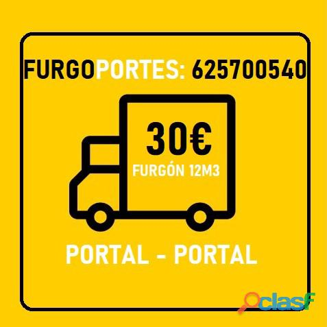 Portes Baratos Ciudad Lineal (625+700540) C/Chofer