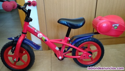 Bicicleta infantil hello kid
