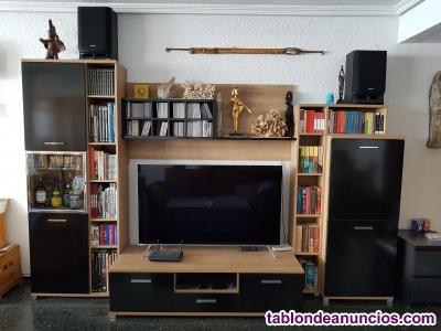 Mueble librería para la TV