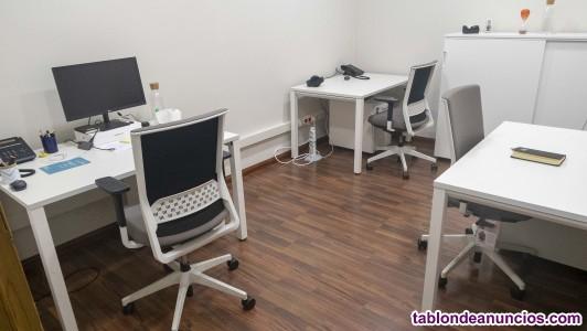Alquiler de espacios de trabajo compartido