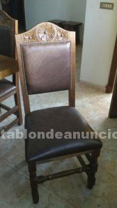 Mueble castellano de roble macizo