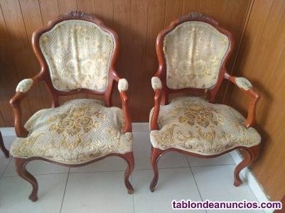 Butacas sillones antiguos