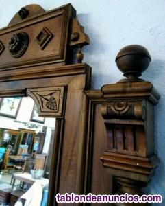 Espejo antiguo barroco.