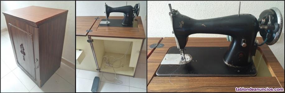 Maquina de coser alfa eléctrica