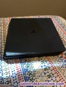 PlayStation 4 SLIM 1TB con mando y 4 juegos