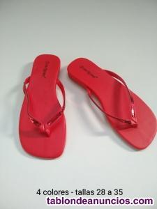 Sandalias de niñas 0,35 euros