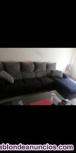 Vendo sofá chaise longue