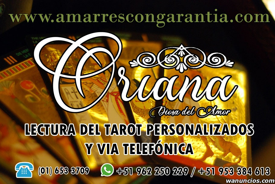 LECTURA DEL TAROT PERSONALIZADOS Y VIA TELEFÓNICA -