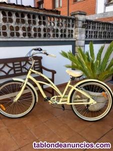 Bicicleta de paseo, marca monty.