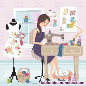 Se precisa modista externa para taller de costura