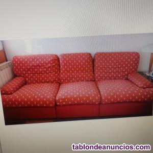 Sofá 3 plazas con sillón