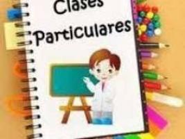 apoyo y clases en materias de letras