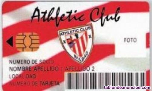 Carnet Athletic club cesion Alokatzen txartela