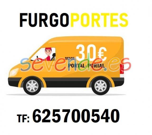 Portes en Hortaleza  desde 30 euros