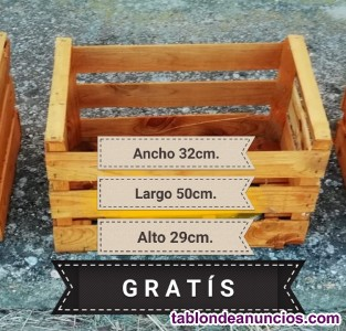 Cajas de madera GRATIS