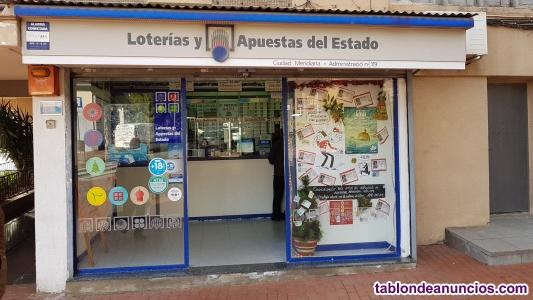 Se vende administracion de loterias