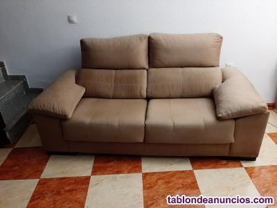 Se vende sofá amplio dos plazas