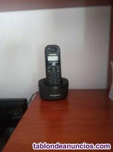 Se vende teléfono inalámbrico fijo panasonic