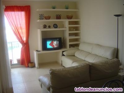 Sofas 3+2 en piel natural flor, color blanco