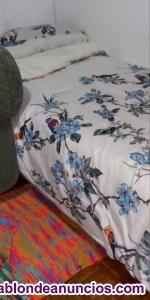 Somier resistente con colchón