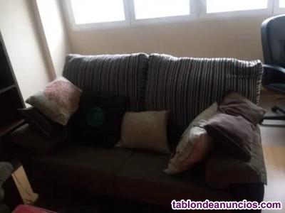 Vendo sofa de dos y tres plazas