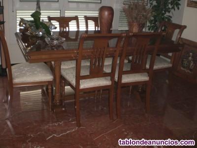 Conjunto muebles de comedor
