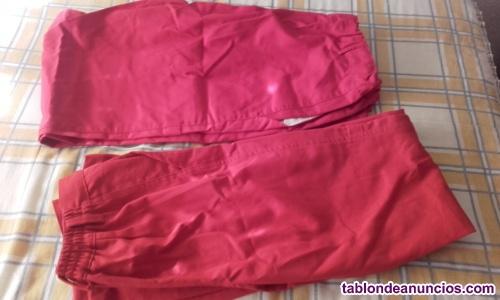 Plumas niño 2) pantalones trabajo 9)