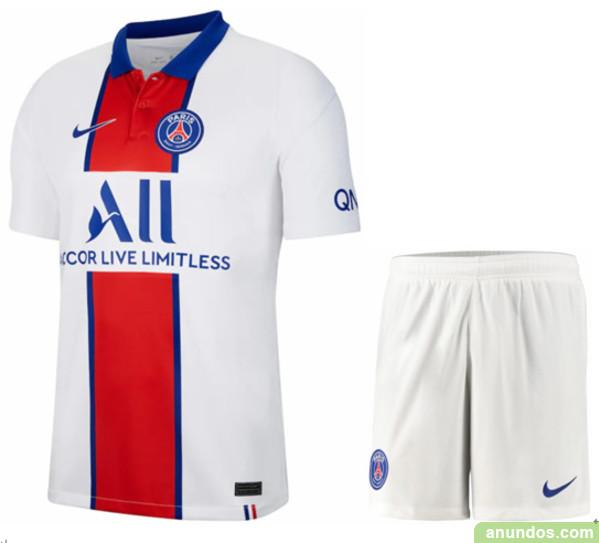 Psg  blanco thai camiseta de futbol mas baratos -