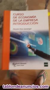 Vendo libros introducción economia de empresa