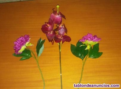 3 varas - ramas de aspecto natural.