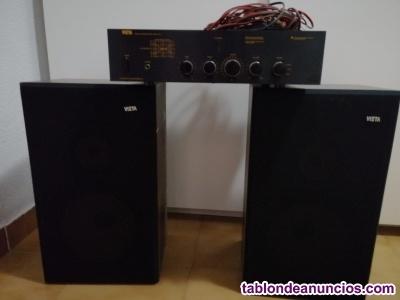Altavoces y amplificadores