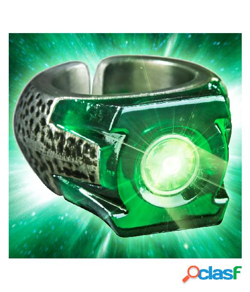 Anillo Linterna Verde La Liga de la Justicia con luz