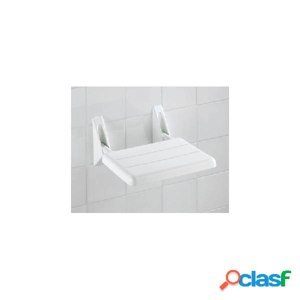 Asiento ducha abatible blanco 32 x 36 x 19 cm