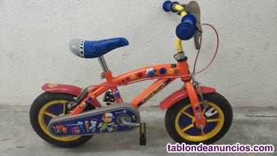 """Bicicleta infantil 12""""de 3-5 años Manny manitas"""