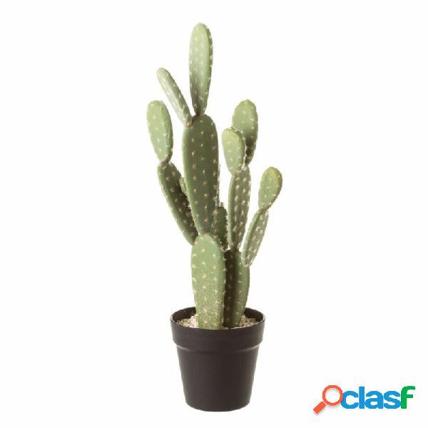 Cactus plastico 13,50 x 13,50 x 55 cm