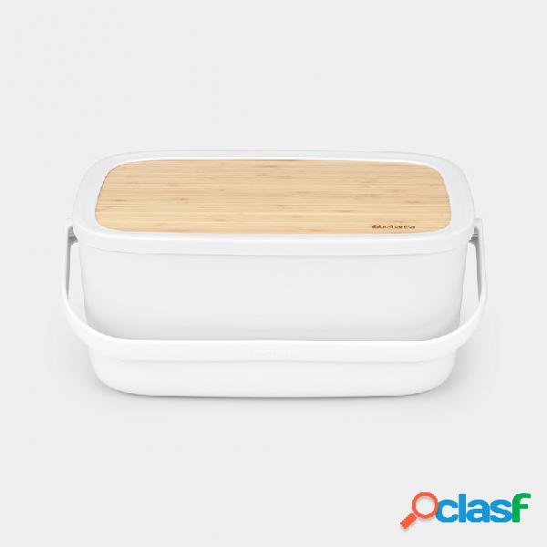 Caja para el pan brabantia nic blanc