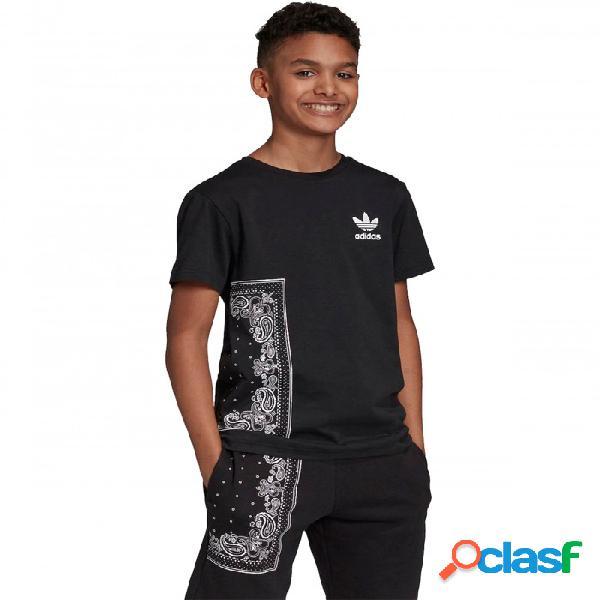 Camiseta Adidas Bandana Junior 8a Negro