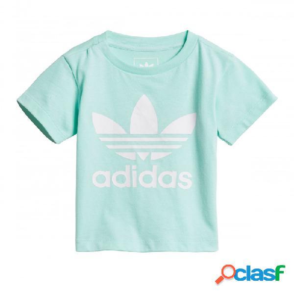 Camiseta Adidas I Trf Tee 3-6m Verde