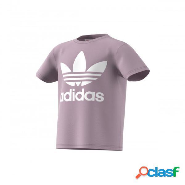 Camiseta Adidas Trefoil Tee 11-12a Rosa