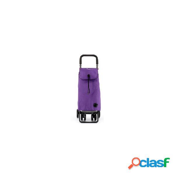 Carro compra rolser 4.2 ruedas mango graduable lila