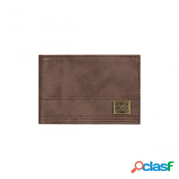 Cartera Quiksilver New Stitchy Marrón S Small