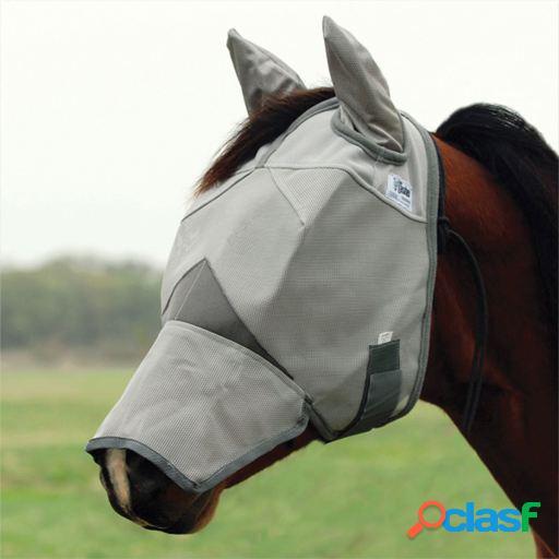 Cashel Máscara para Moscas con Orejeras Potros y Ponys