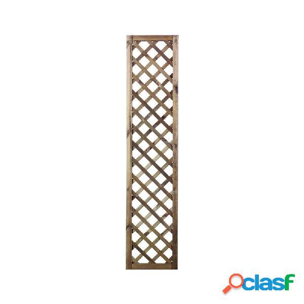 Celosia madera premices marron 40x180 (luz 6x6)