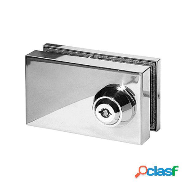 Cierre lyf l-303 para puertas de cristal llave tubular