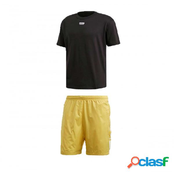 Conjunto Adidas D Grp Tee 3 M Medium Negro