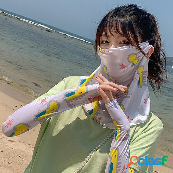Daisy Mascara Funda para hielo anti-UV para colgar Oreja