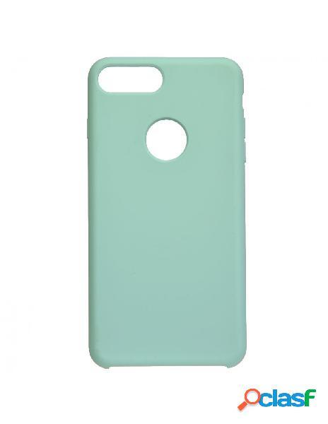 Funda Ultra suave Logo Azul para iPhone 8 Plus