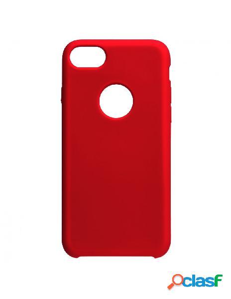 Funda Ultra suave Logo Roja para iPhone 8