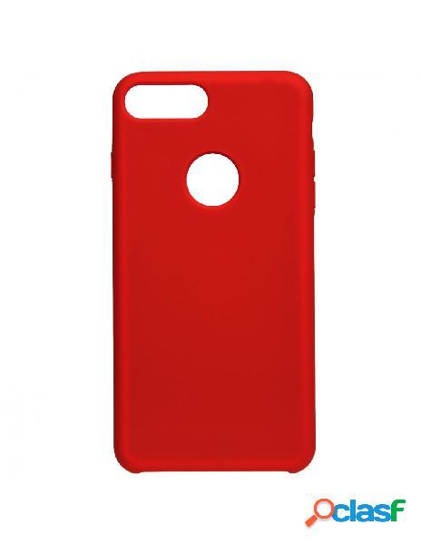 Funda Ultra suave Logo Roja para iPhone 8 Plus
